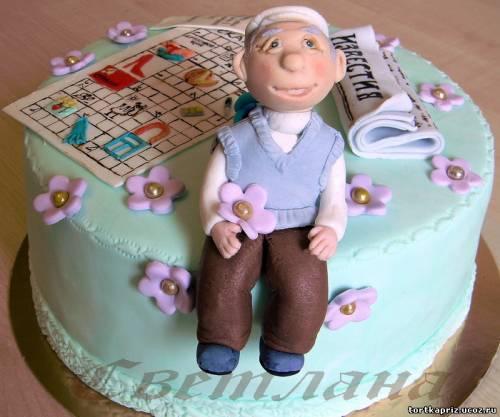 Торт на день рождения дедушки своими руками 41